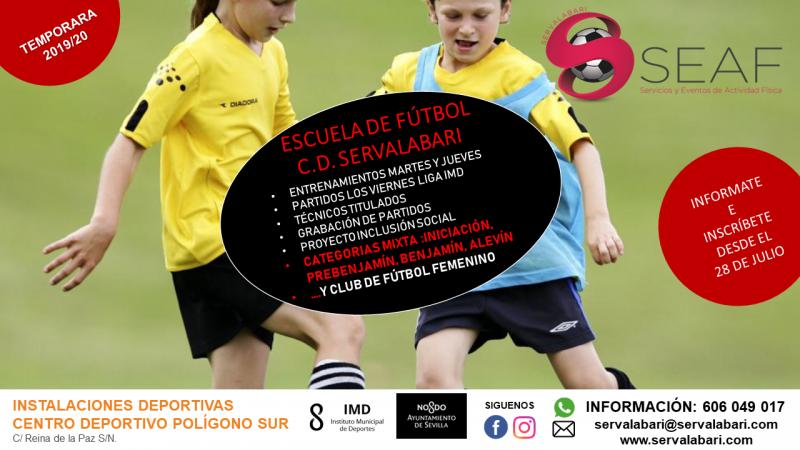 CARTEL 2019 Escuela de Futbol Mixta